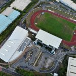 John Charles Centre for Sports Aerial photo taken with a drone in Leeds