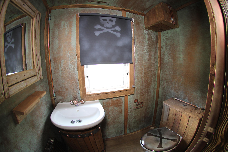 Pirate Themed Caravan