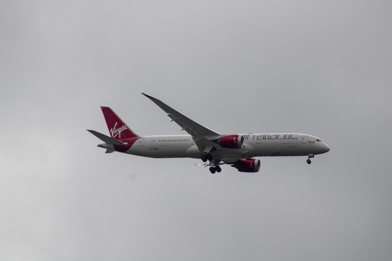 Virgin Atlantic Airways Plane Free Stock Photo Boeing Next-Generation 737, 737 MAX, 747-8, 767, 777, 777X, Airbus